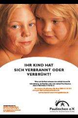 Plakat Mädchen A4 KLINIKEN