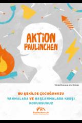 """Broschüre in türkisch """"Aktion Paulinchen - So schützen Sie Ihr Kind vor Verbrennungen und Verbrühungen"""""""