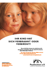 Plakat Mädchen A3 KLINIKEN