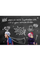TDBK Superhelden Postkarten